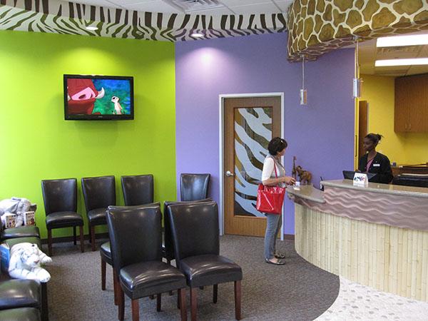 Pinnacle Pediatric Dentistry, Pediatric Office Furniture